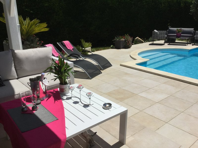 Spacious villa with swimming-pool, vacation rental in Aubiet