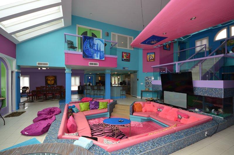 Sunken Living Area