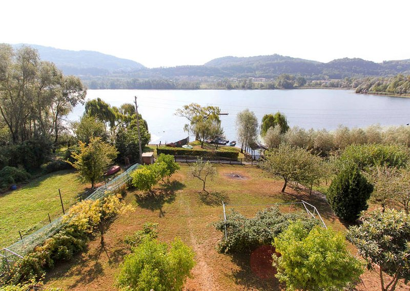 Blick auf den privaten Garten
