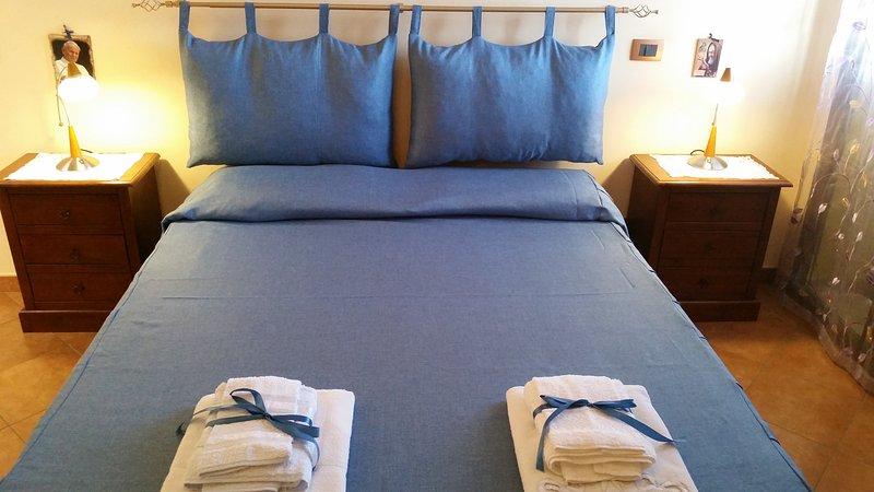 habitación doble con aire acondicionado