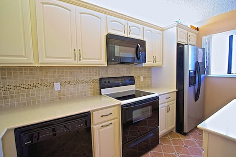 A well appointed kitchen with everything you need for a comfortable stay.