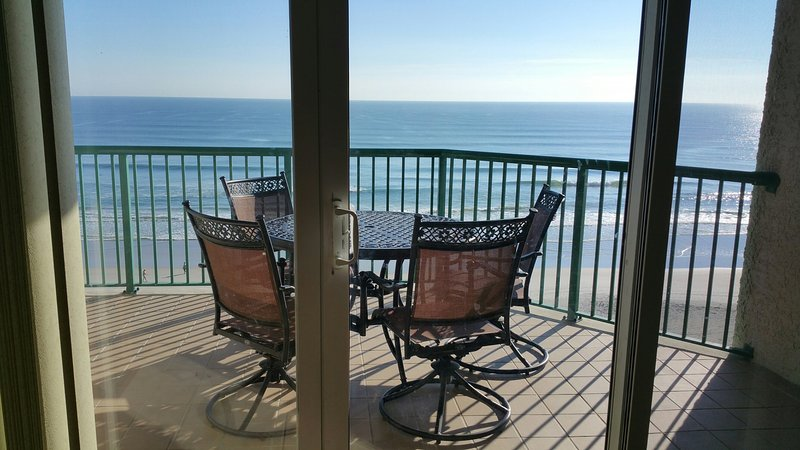 Direct Oceanfront Private Balcony