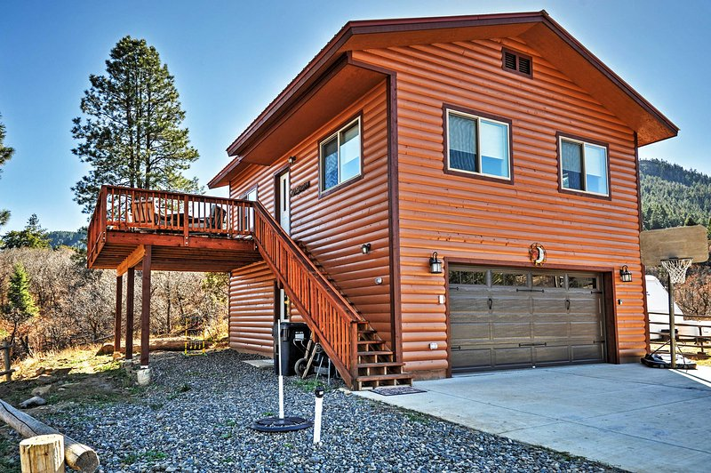 Pagosa Springs Apartment - Hot Tub & Spacious Deck, vacation rental in Pagosa Springs