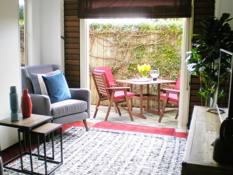 Lounge looking thru to patio