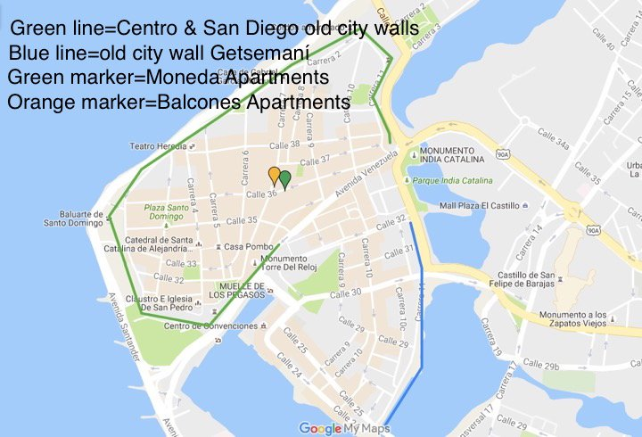 We are located in the heart of the Old Walled City