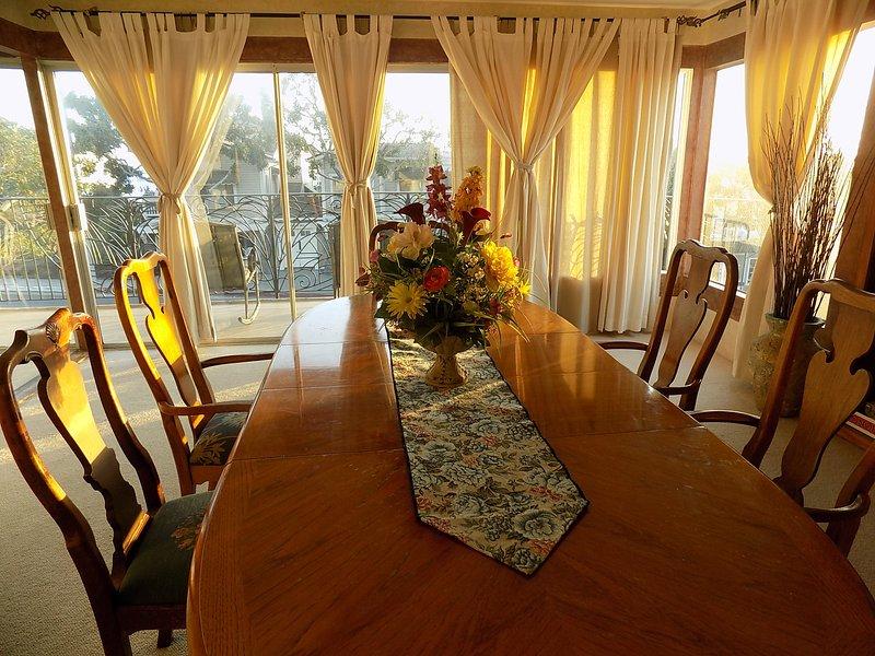 Tavolo da pranzo in Penthouse