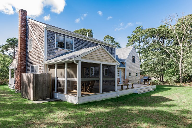 Yard, Screened Porch, Deck Outside Shower