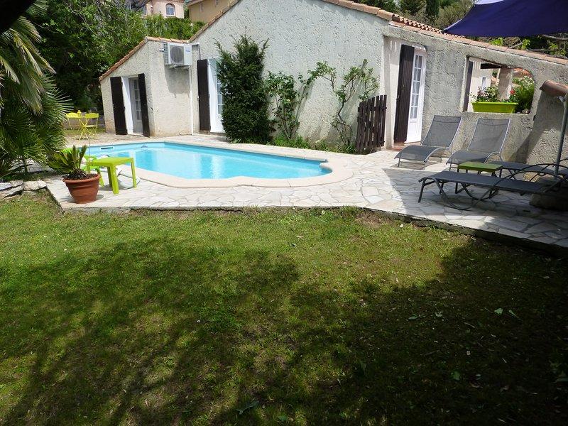 proche  Aubagne,   auriol  villa avec piscine, holiday rental in Plan-d'Aups-Sainte-Baume