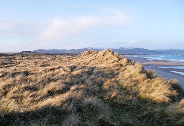 Coul Enlaces dunas y la playa