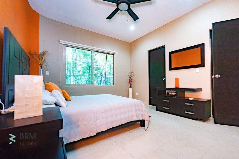 amenities in the bedroom