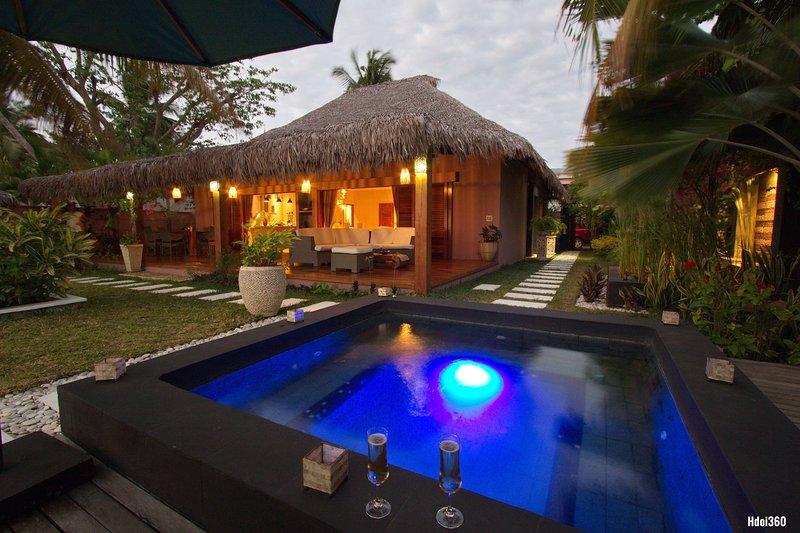 Prestige Villa en location vacances bord de mer, location de vacances à Nosy Be