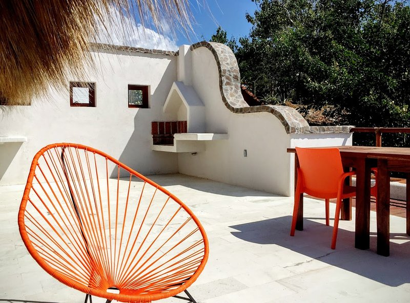 Palapa Terrasse & barbecue