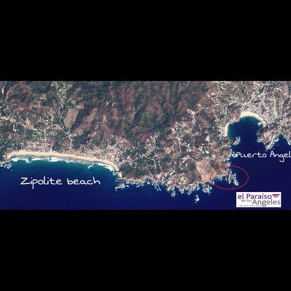 10 min à pied de la plage la plus proche, à 3 km de la célèbre plage de Zipolite