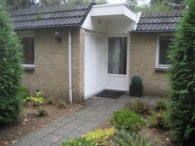 entrada / bungalow frente