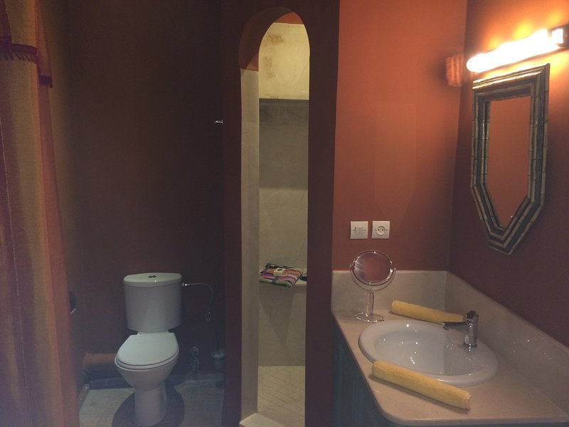 Bathroom Moroccan room