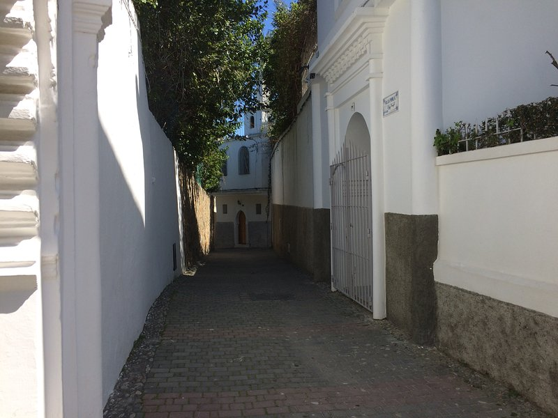 Alley access to Main Entrance. Mabrouka Left and right Perla Villa ..