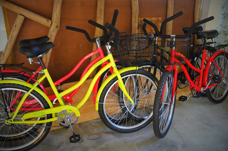 Beach bike for rent, free for a stay of 7 days
