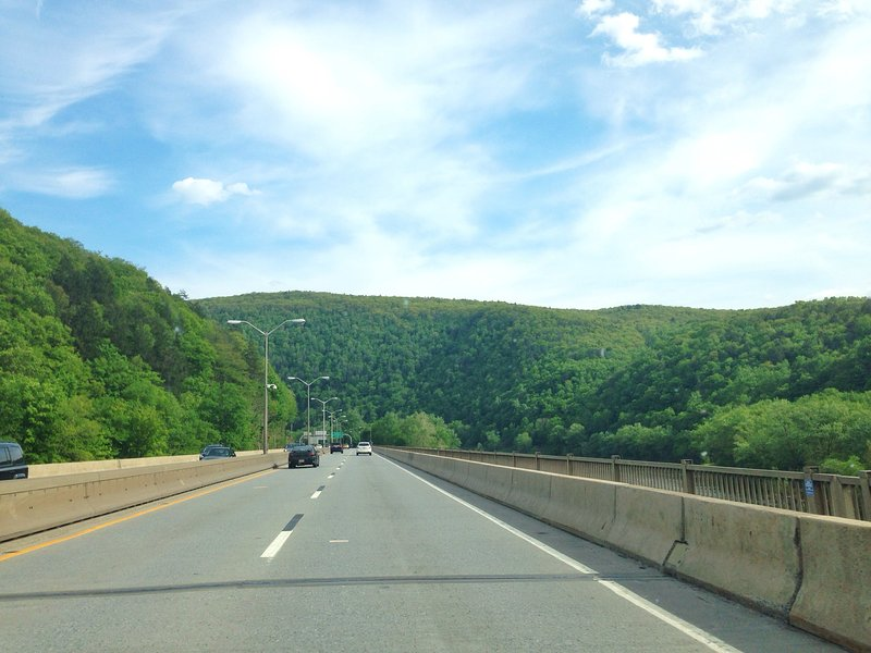 Catskill Mountains on your way back to NJ and NYC