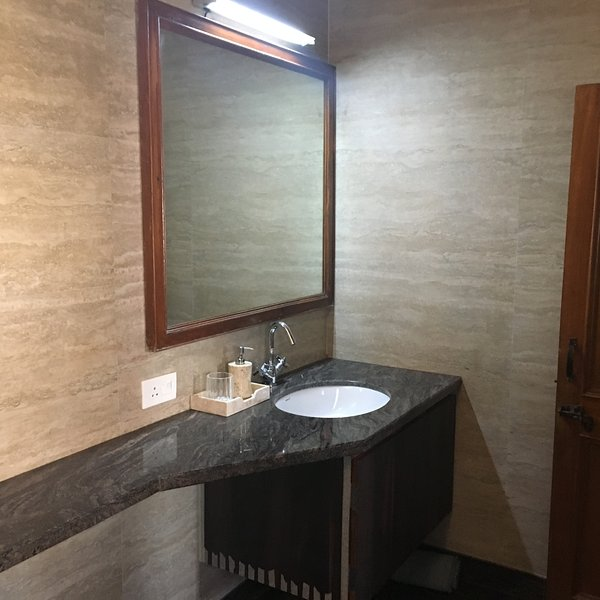vanity with Bath room