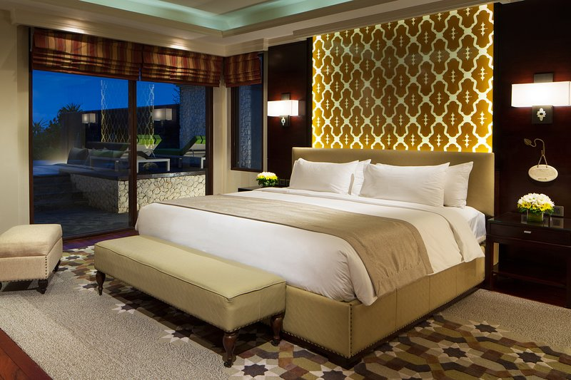 Ocean Pool Villa Bedroom