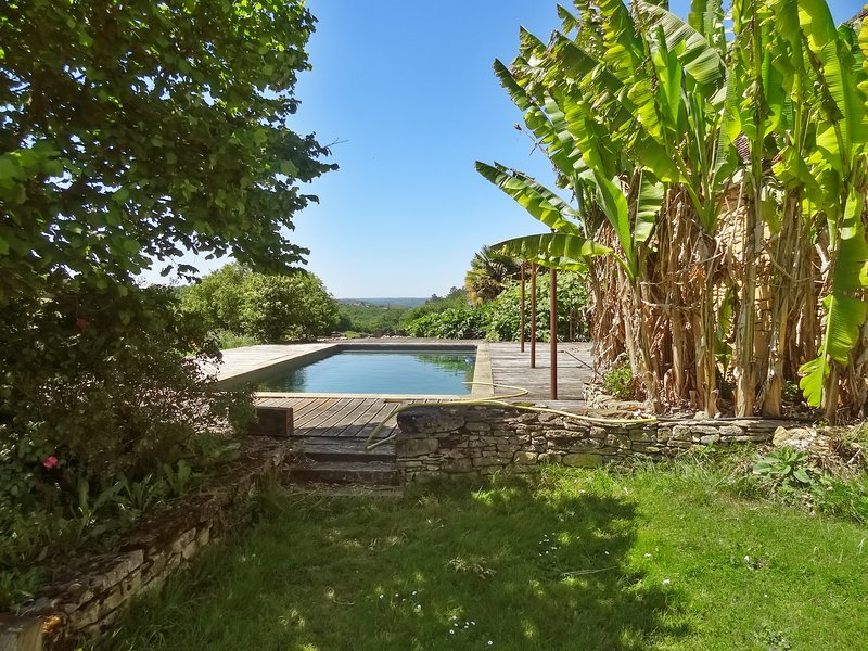 Amazing house with shared pool, vacation rental in Aubas