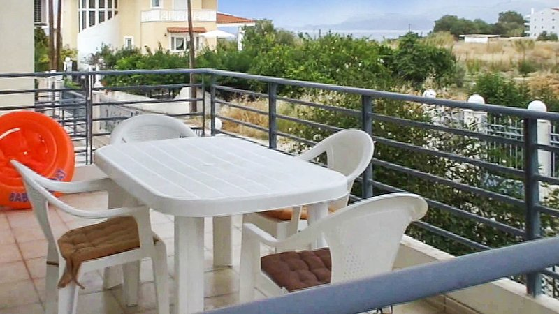 Nice house with sea view & terrace, vacation rental in Kato Diminio