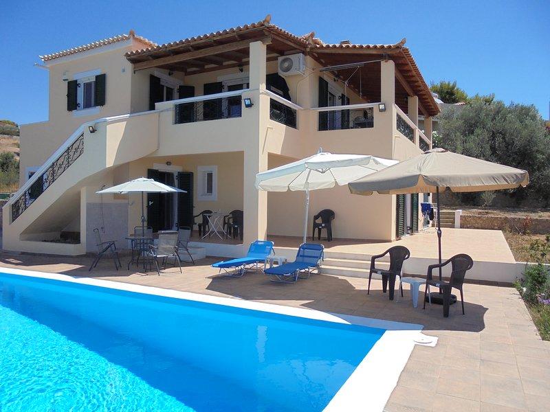Amazing villa with swimming-pool, vacation rental in Porto Heli