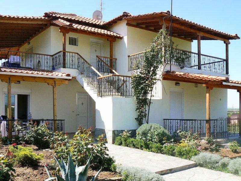Beautiful apartment near the beach, location de vacances à Nea Triglia