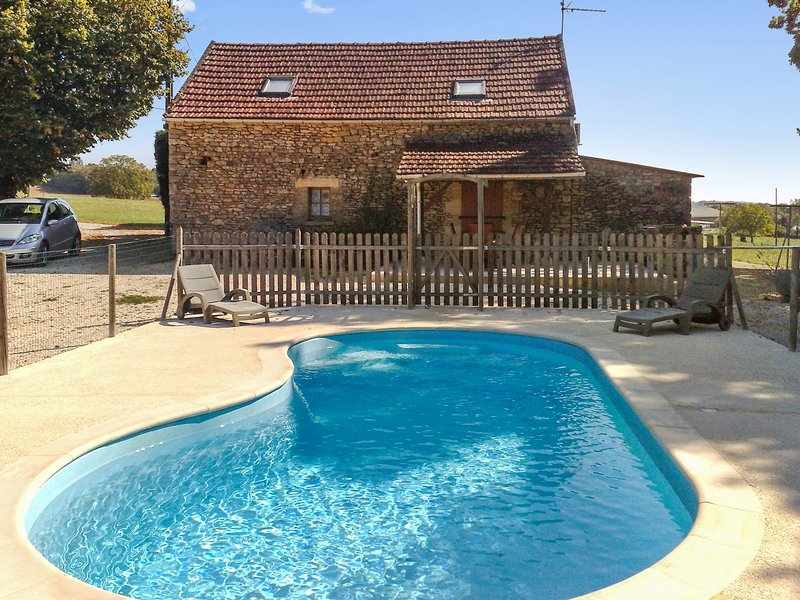 Beautiful house with swimming-pool, holiday rental in Salignac-Eyvigues