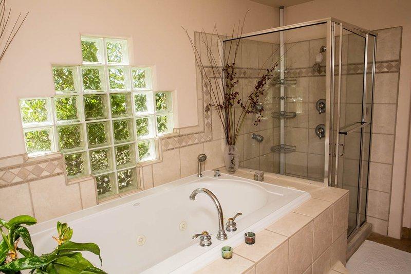 De master badkamer