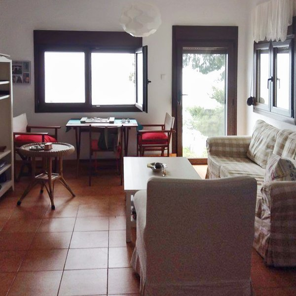Nice apartment with sea view & Wifi, holiday rental in Fourka