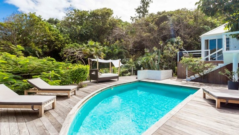 Amazing villa with swimming-pool, vacation rental in Gustavia