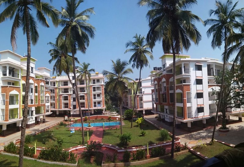 Apartment at Candolim Goa, holiday rental in Nerul