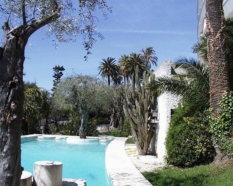 Zwembad en tuin