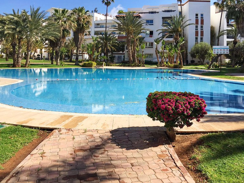 Nice apt with shared pool & terrace, holiday rental in Agadir