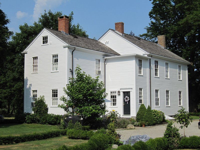 Captain Philip Cory House, viewed from the back yard