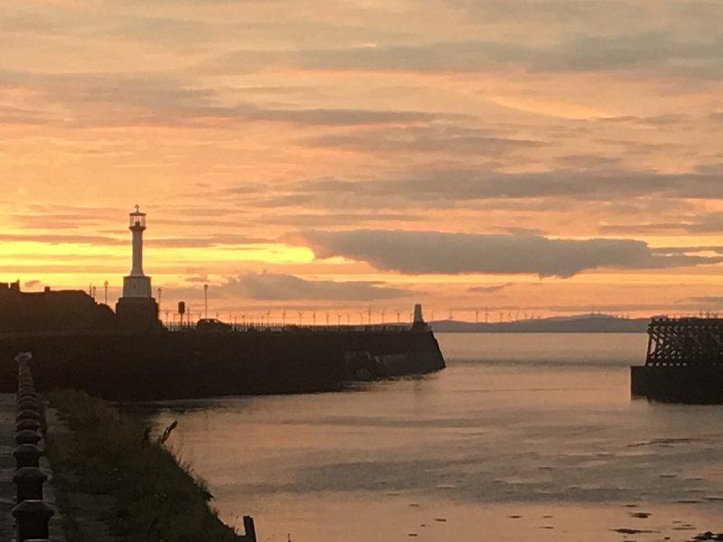 Maryport sunsets are truly spectacular!