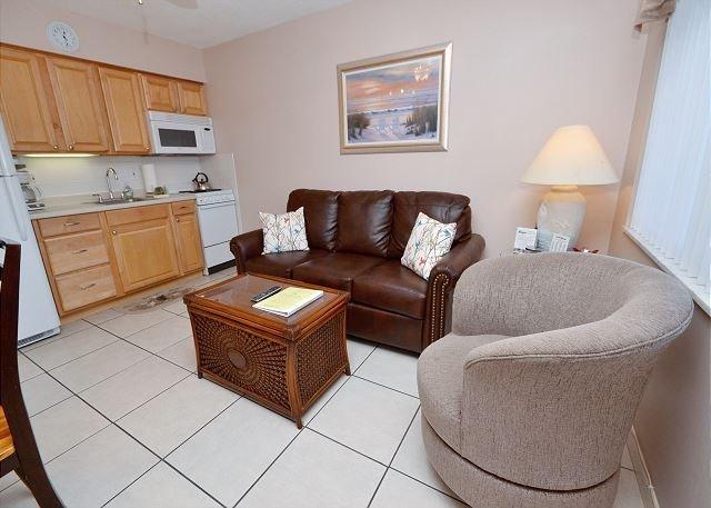 Modern living room area