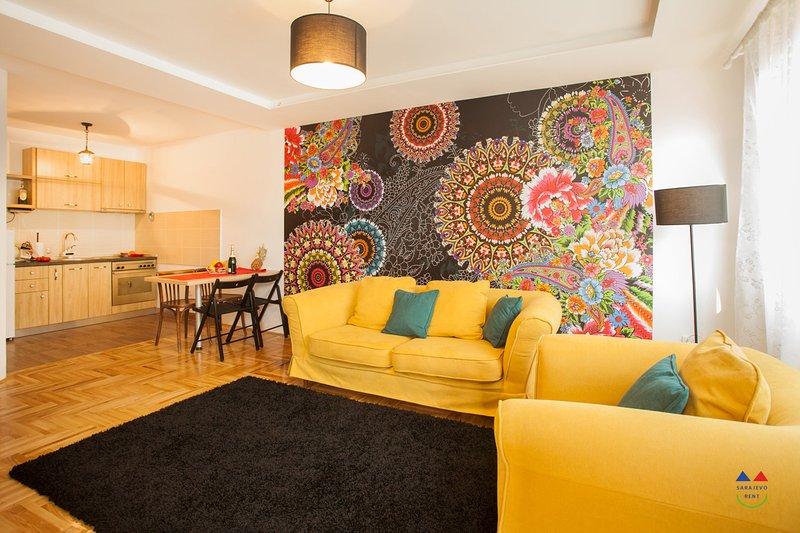 MIA - lovely apartment near Sarajevo airport, holiday rental in Lukavica