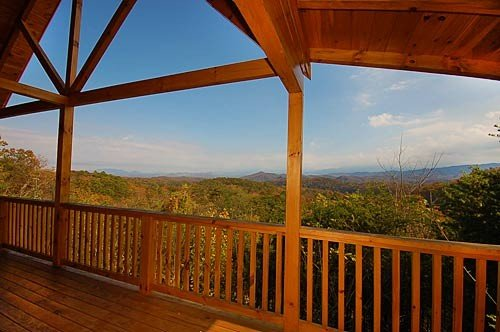 Great Mountain View from deck