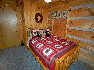 Queen Bed in Lower