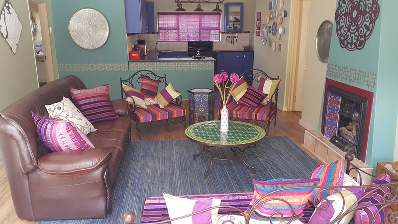 Open living spaces with vibrant colours!