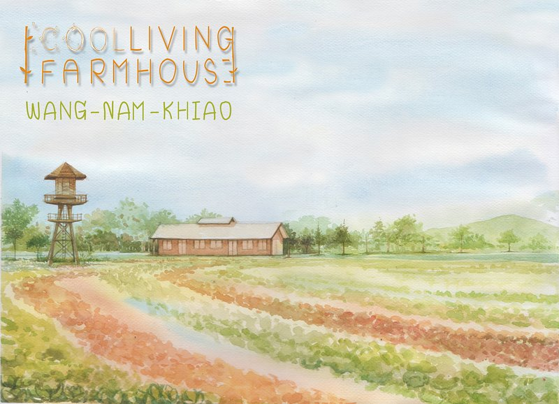 Coolliving Farmhouse Eco hotel and organic farm with organic restaurant served you only green ingred