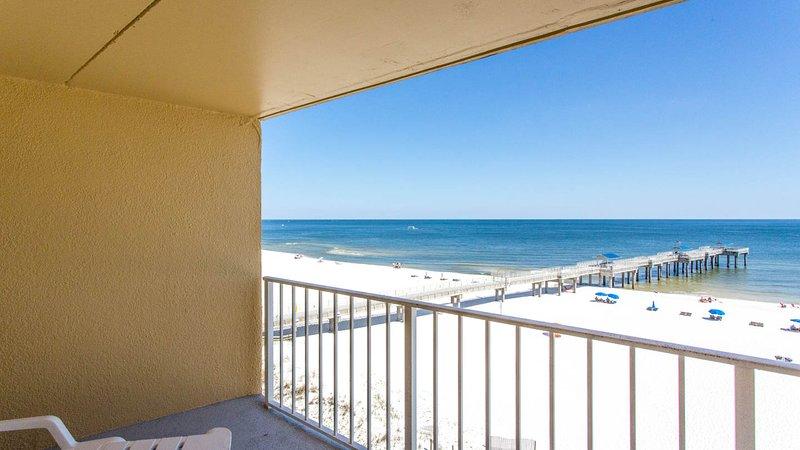 Balkon met uitzicht naar het westen