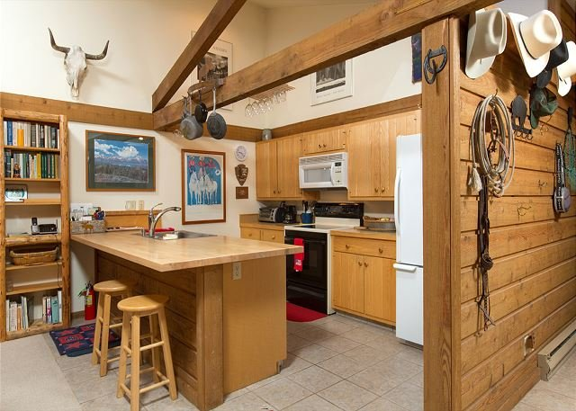 Gorgeous Teton views ~Historical condo~ Close to Jackson & national parks!, vacation rental in Jackson