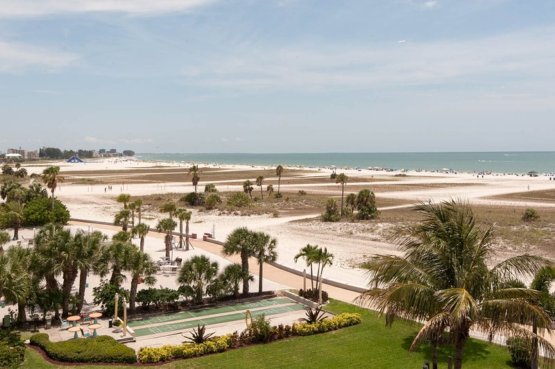 de pájaro vista de los ojos de las playas de nuestro propio balcón.