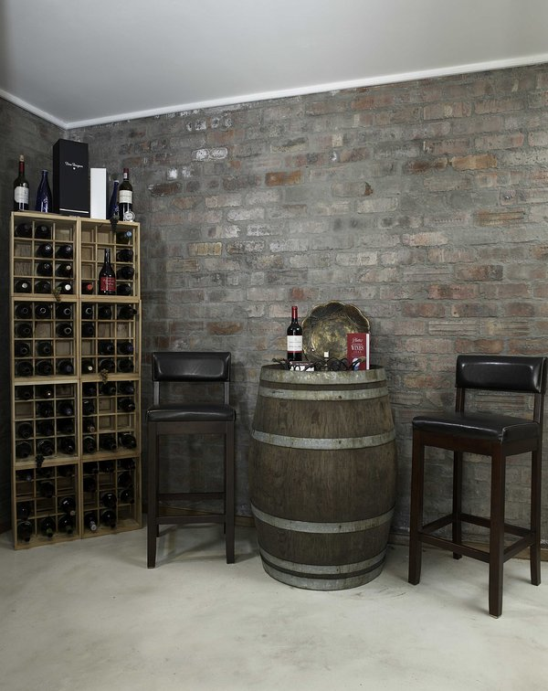 Private cellar for evening gatherings with friends.