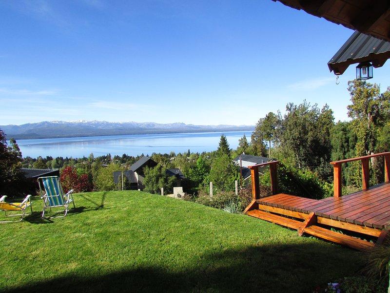 deck y panoramas jardin Vous