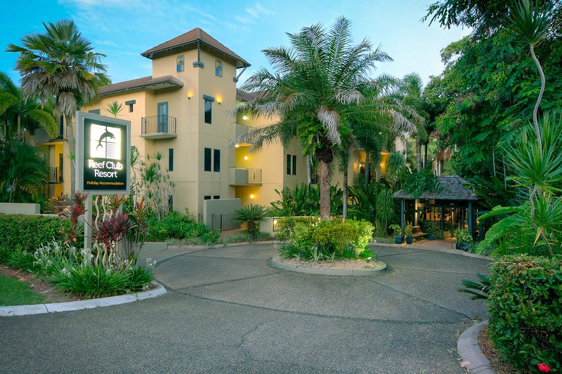 The Reef Club Resort on Davidson Street, Port Douglas