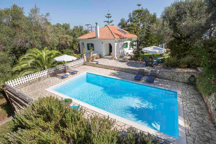 Villa Maria Near Fontana, Paxos (Sleeps 2-4), vacation rental in Loggos
